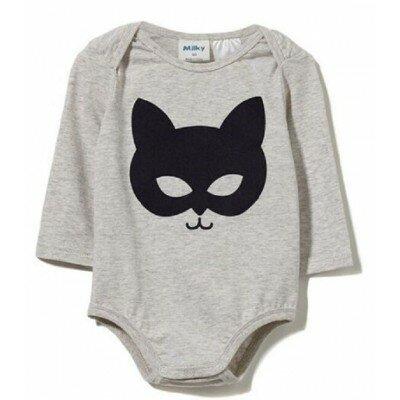 Baby Boy Clothes - Milky Mask Bubbysuit
