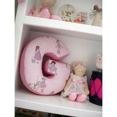 Nursery Decor - Alphabet Pillow