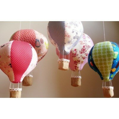 Nursery Decor - Hot Air Balloon