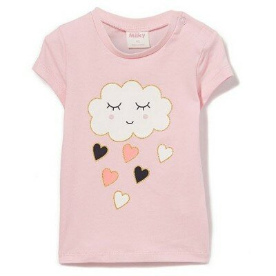 Baby Girl Clothes - Milky Cloud Tee