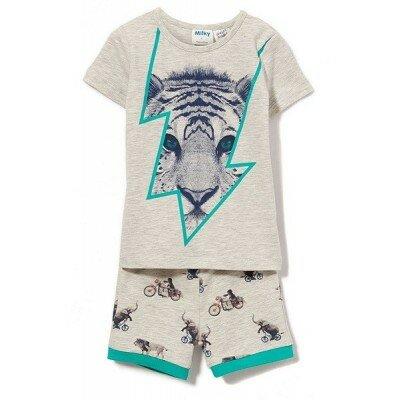 Boys Pyjamas - Milky Lion PJs