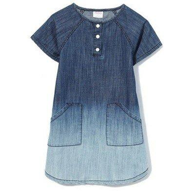 Girls Dresses - Milky Chambray Dress