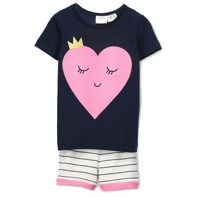 Girls Pyjamas - Milky Smile PJs