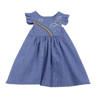 Baby Girl Dresses - Madison Rainbow Dress