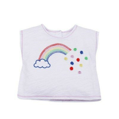 Baby Girl Clothes - Madison Rainbow Tee