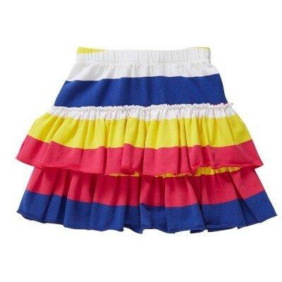 Hootkid Stripey Stripe Ra Ra Skirt