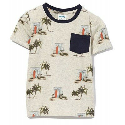 Baby Boy Clothes - Milky Hawaii Tee
