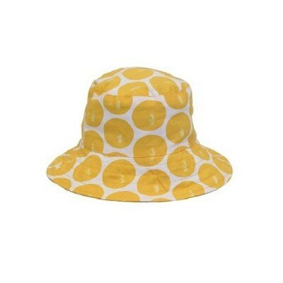 Girls Accessories - Hide and Seek Big Spot Hat Daffodil