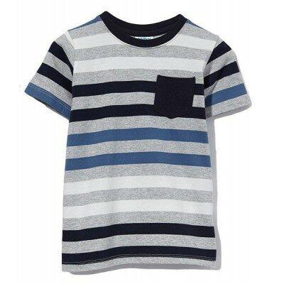 Boys Clothes - Milky Stripe Pocket Tee