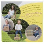 Unisex Baby Gifts - All4Ella Milestone Blocks Wood - 4