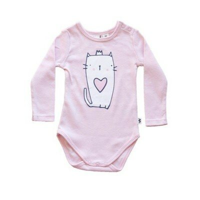 Little Bubba Kitty Bodysuit - Baby Girl Rompers