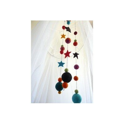 Nursery Decor - Starry Night Mobile Multi