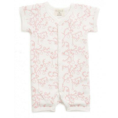 Baby Girl Rompers - Little Pear Tree Growsuit