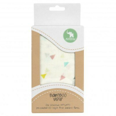 Baby Gift Ideas - All4Ella Bamboo Wrap Triangles