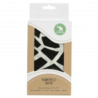 Baby Gift Ideas - All4Ella Bamboo Wrap Geo Black