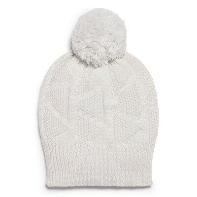 Wilson and Frenchy Glacier Grey Knitted Hat
