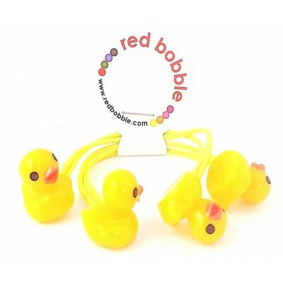 Red Bobble Mini Ducklings Ties