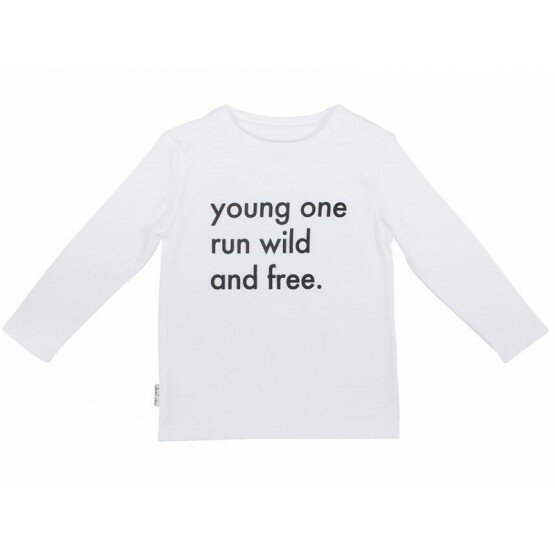 Tiny Tribe - Young Ones Run Wild Tee