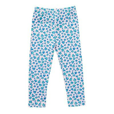 Hootkid Ditsy Heart Leggings