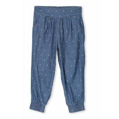 Girls Clothes - Milky Denim Spot Pant