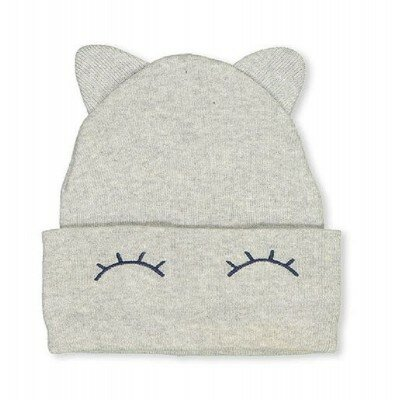 Baby Girl Accessories - Milky Eyelash Beanie