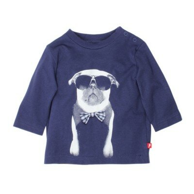 Fox and Finch Baby - Pug With Bow Tie Tee
