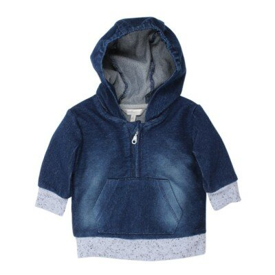 Fox and Finch Baby Greenwich Denim Hoodie