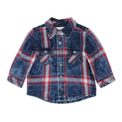 Fox and Finch Baby Greenwich Check Shirt