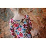 Howi Floral Leotard - Back