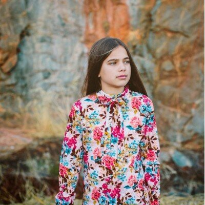 Howi Pussy Bow Blouse - Floral