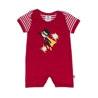 Hootkid - Super Boy Romper