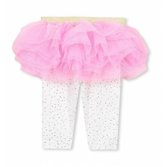 Milky Spot Tutu Leggings