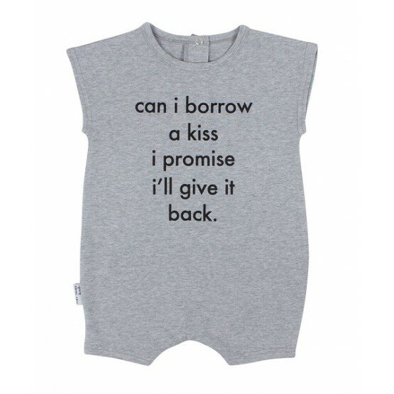 Tiny Tribe Borrow A Kiss Playsuit
