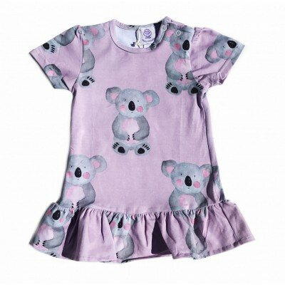 Cheeky Chickadee Koala Dress