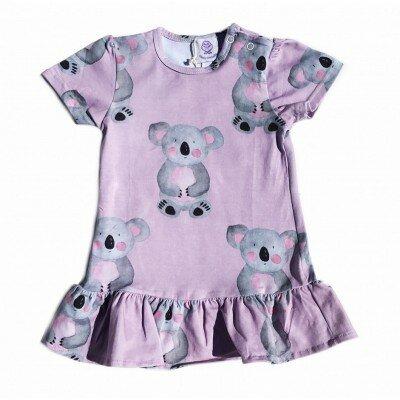 Cheeky Chickadee Koala Dress