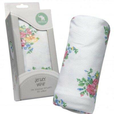 All4Ella Jersey Wrap - Floral
