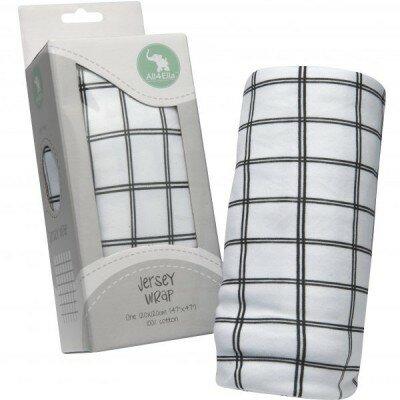 All4Ella Jersey Wrap - Lines