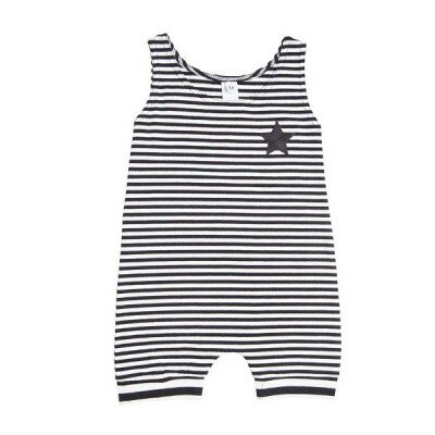 He and Her Pirate Stripe Romper