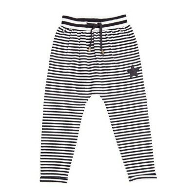 He and Her Pirate Stripe Relaxed Pants
