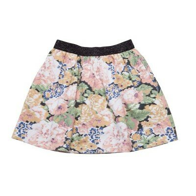 He and Her Peony Bloom Skirt