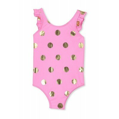 Milky Polka Dot Swimsuit