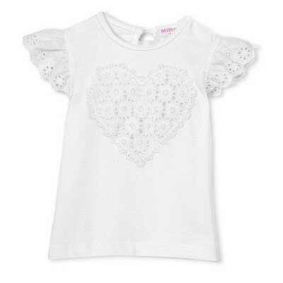 Milky Applique Tee - Girls