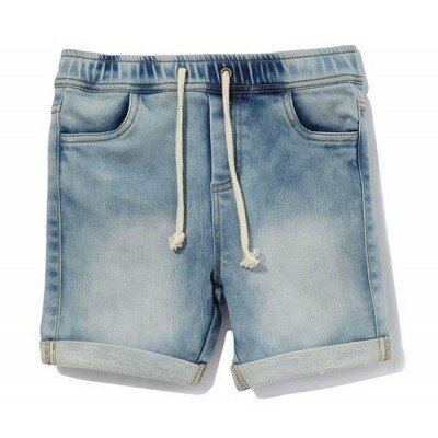 Milky Denim Knit Shorts
