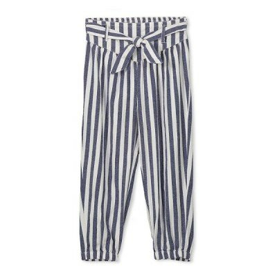 Milky Stripe Pants - Girls