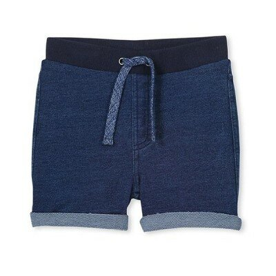 Milky Track Shorts Denim - Baby