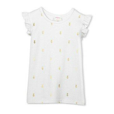 Milky Pineapple Foil Tee - Baby
