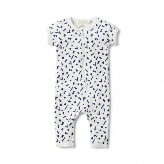 Wilson and Frenchy Geo Play Zipsuit