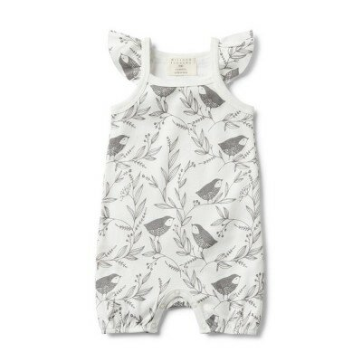 Wilson and Frenchy Little Flow Ruffle Playsuit
