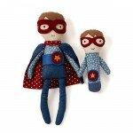 Baby Boy Gifts Australia - Super Boy and Rattle