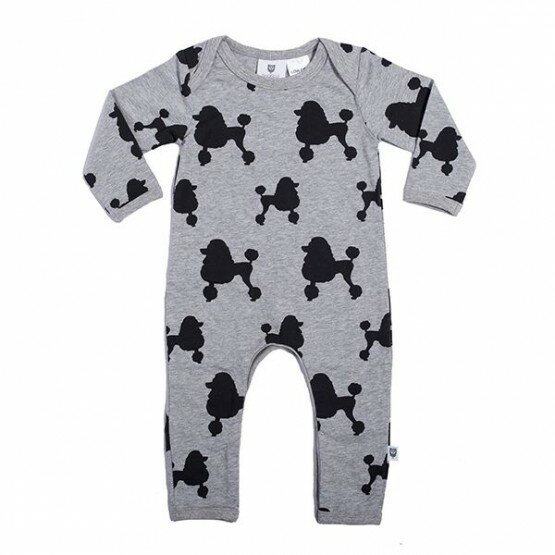 Hootkid Poodles and Poodles Romper
